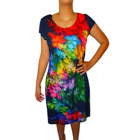 Robe multicolore Masquenada