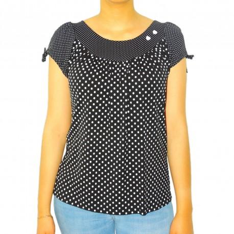 T-shirt manches courtes pois Masquenada