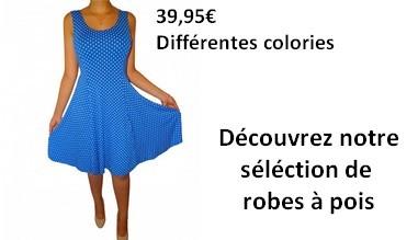 Robes à pois à partir de 39,95€